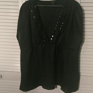 E-Col-O-Gie Woman's Plus Size Top